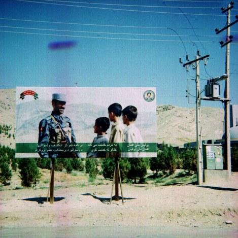 Billboard w Afganistanie