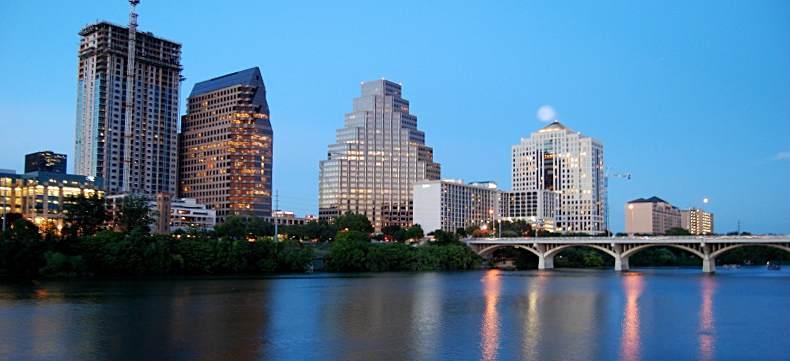 Austin w Teksasie. Dowtown
