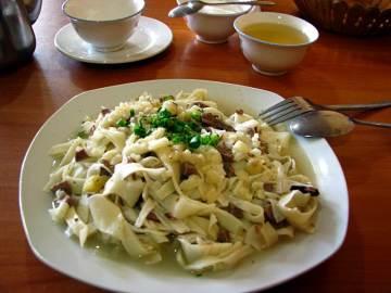 Jedzenie w Kirgistanie - bisz barmak