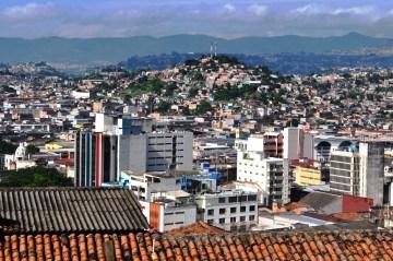 Widok na Tegucigalpa