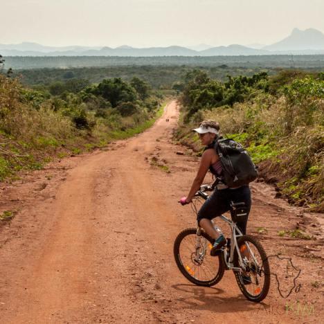 Rowerowa podróż przez Sudan Południowy