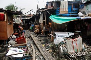 Zdjęcia z podróży na Filipiny - slumsy w Metro Manila