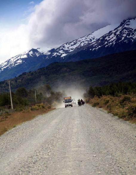 Podróż przez chilijską Patagonię