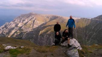 Rumuńskie góry, polscy turyści