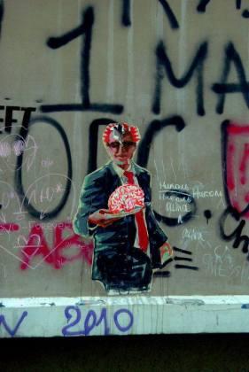 Ukraina, Odessa, sztuka uliczna