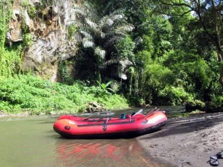 Rafting na azjatyckiej rzece