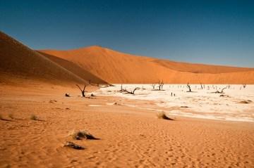 Pustynny krajobraz Afryki - zdjęcia z podróży