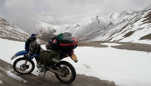 Motocyklem przez Chiny
