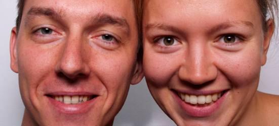 Dawid Gudel i Julia Jankowska.