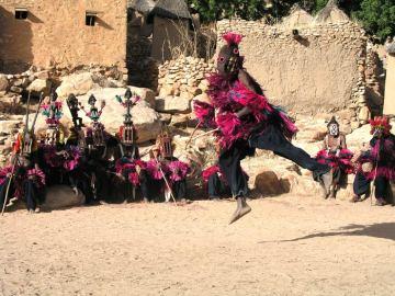 Dogonowie w Afryce