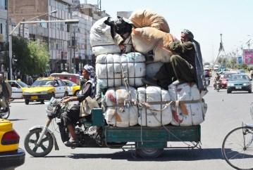 Transport w Afganistanie wymaga niekiedy cyrkowych umiejętności