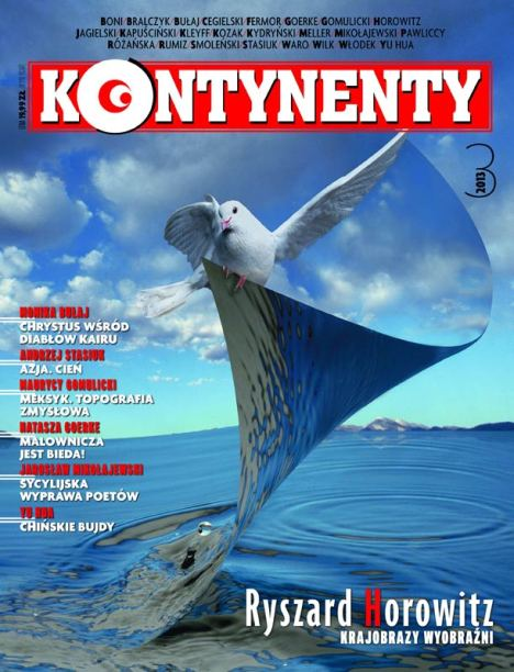 Kontynenty, nr 3/2013, okładka pierwsza