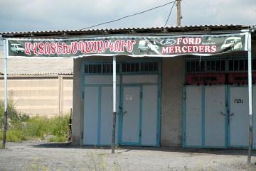 Warsztat samochodowy w Armenii