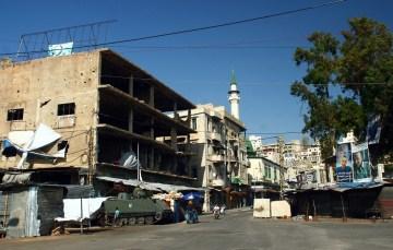 Wojskowe punkty kontrolne w Trypolisie - foto