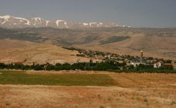 Krajobraz Libanu