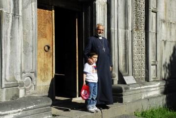 Monastyr w Armenii - zdjęcia z podróży rowerowej