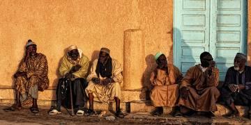 Rowerami przez Mauretanię. Lokalny targ