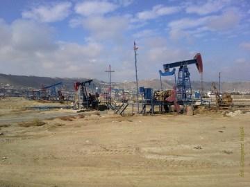 Polaz naftowe w Azerbejdżanie - zdjęcia z podróży