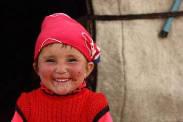 Chłopiec z Tadżykistanu