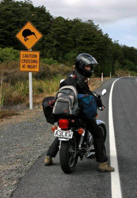 Podróż motocyklem przez Nową Zelandię - foto