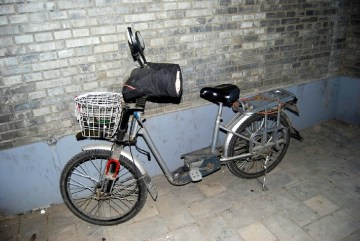 Chiński rower na zimę