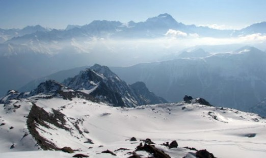 Zima w Alpach