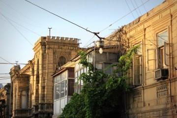 Zabytki Baku - pałacyk Aga-Bała Kulijewa - foto podróż