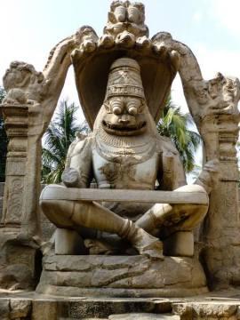 Świątynia Narasimha Vigraha w indyjskim Hampi