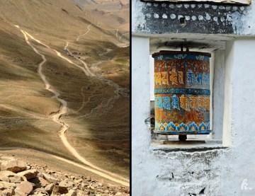 Zdjęcia z Indii - droga przez Ladakh i młynki modlitewne