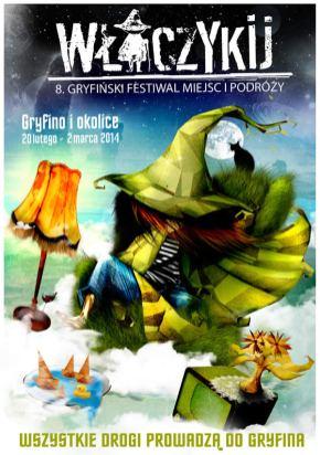 Plakat tegorocznej edycji festiwalu Włóczykij.