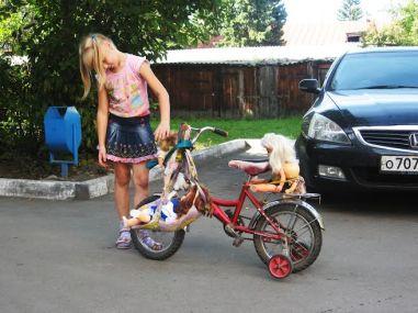 Podróż na Syberię - dziecko foto