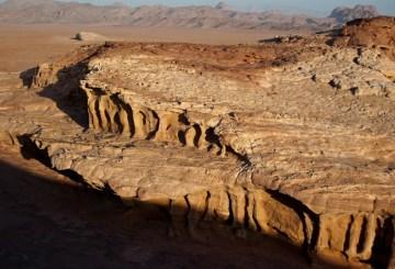 Erozja skalna, Wadi Rum, Jordania