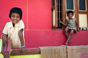 Siostry spotkane w podróży po Indiach