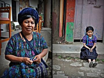 Tradycyjne stroje Majów