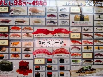 Tokio to stolica sushi - foto