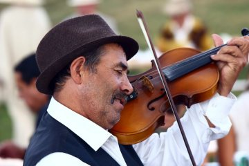 Muzyk z Karpat