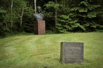Pomnik Dzierżyński - foto