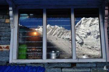 Schronisko turystyczne w Himalajach - zdjęcia z Annapurna Sanctuary