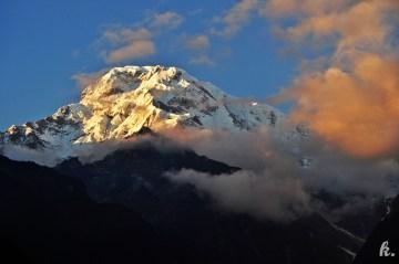 Widok na ośmiotysięczniki - zdjęcia z Nepalu