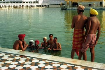 Złota Światynia Sikhów w Amritsarze