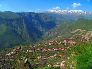 Miejscowość Halidzor w Armenii
