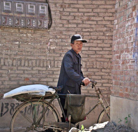 Starszy mieszkaniec Chin