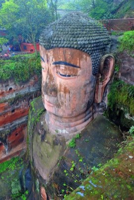 Budda z Leshan, Chiny, Syczuan