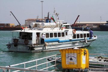 Irański prom na wyspę Kish