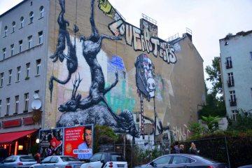 Berlin, Kreuzberg - graffiti ROA