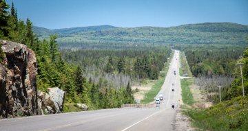 Kanada, Ontario na rowerach
