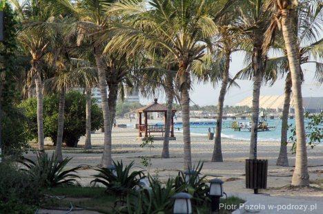Rajska plaża na irańskiej wyspie Kish