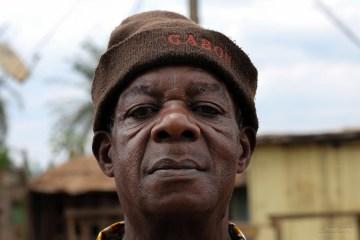 Mężczyzna z Gabonu - foto z podróży