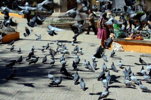 Plaza de Armas w Potosi - Boliwia