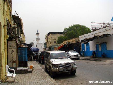 Ulica w Dżibuti